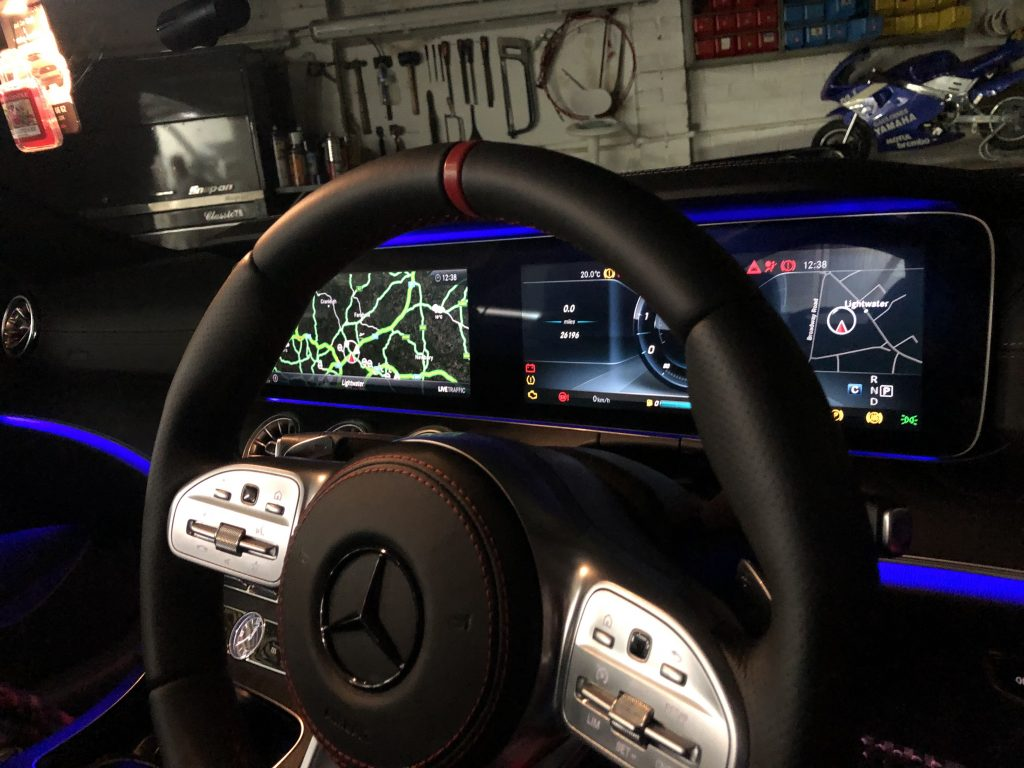 W213 Digital Cockpit