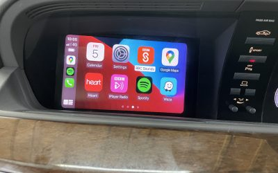 W221 S Class Apple CarPlay